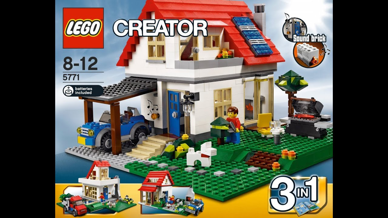 lego treehouse 3 in 1 instructions