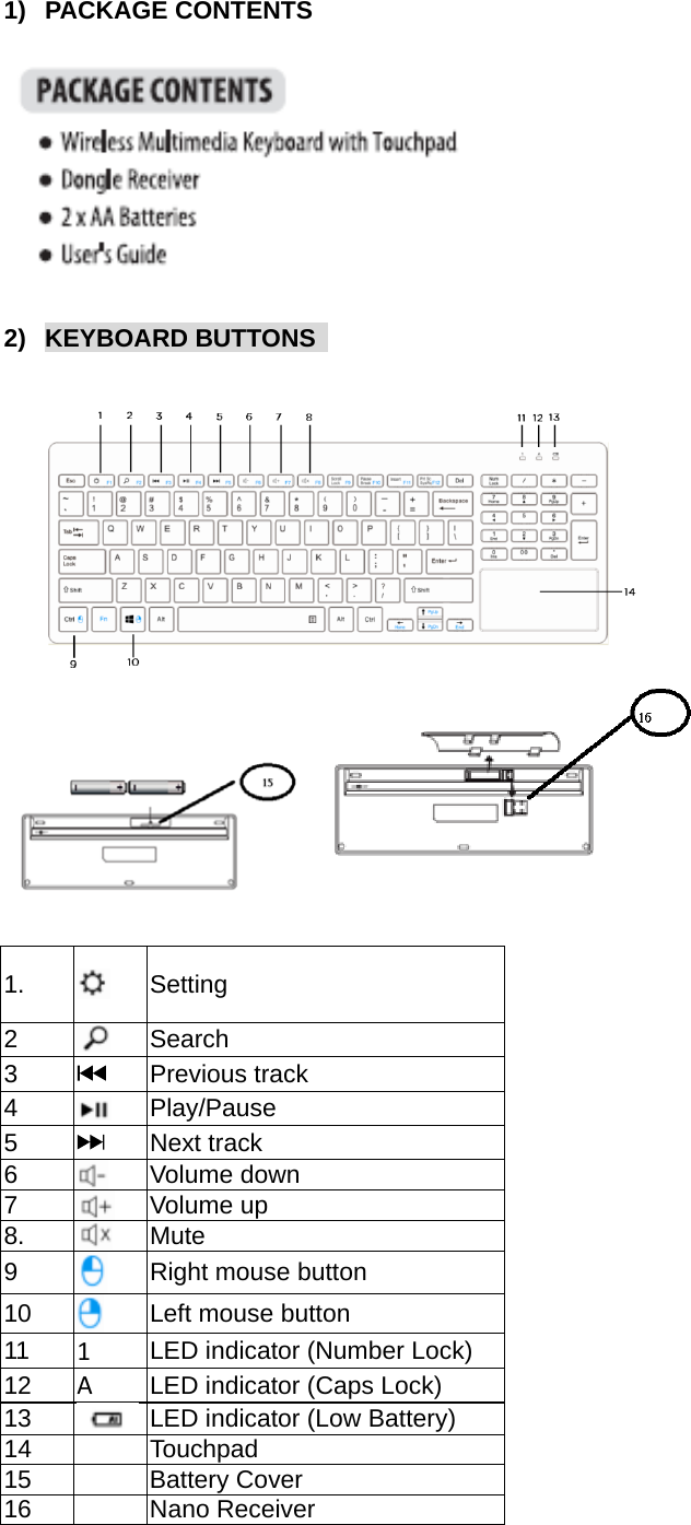 blackweb wireless keyboard instructions bwls7350r