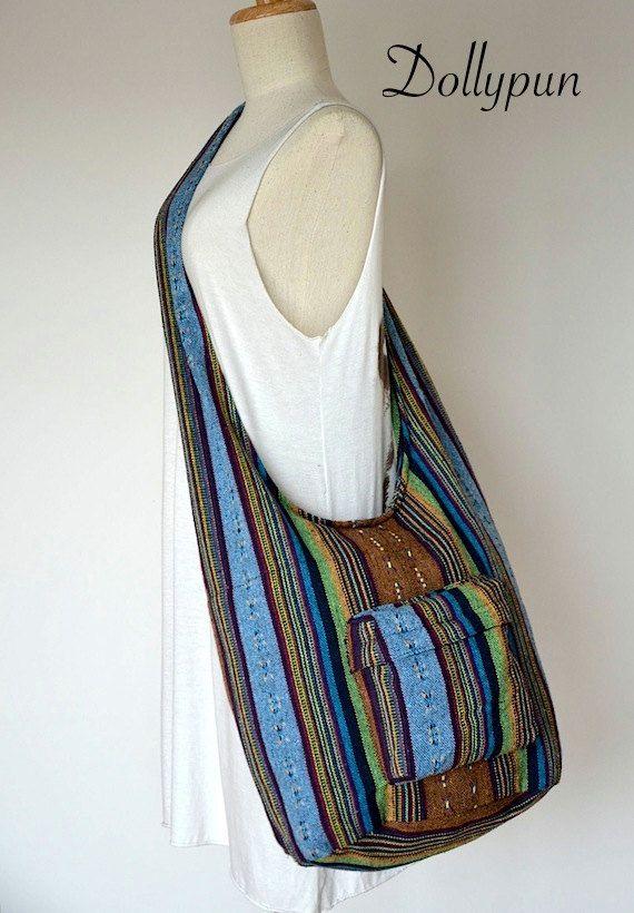 boho sling bag instructions