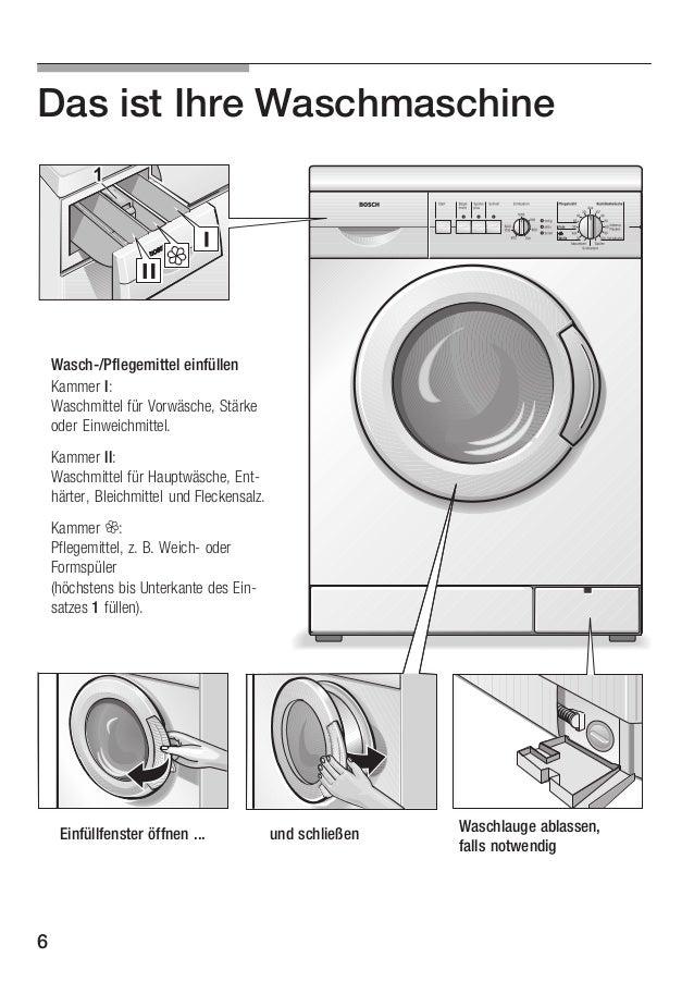bosch was20160uc instruction manual