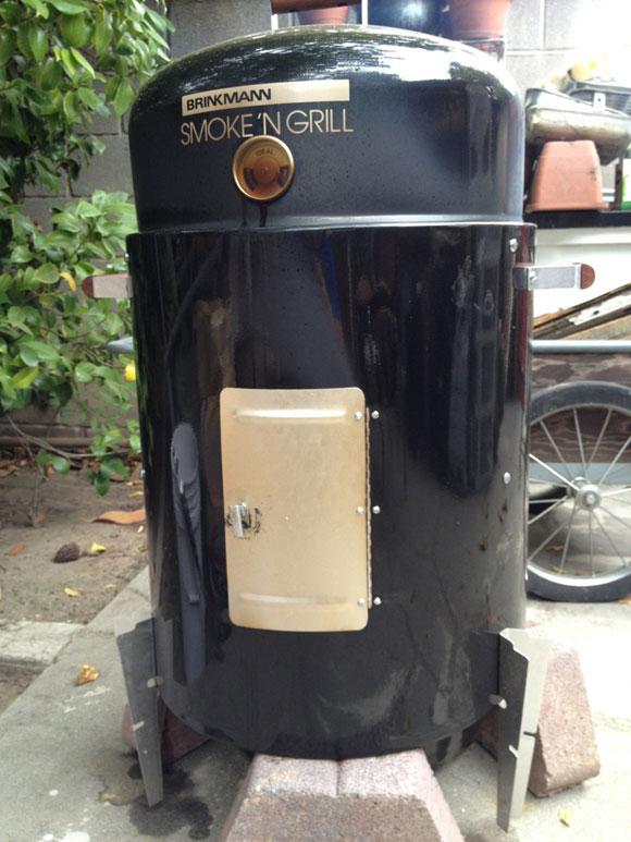 brinkmann vertical smoker instructions