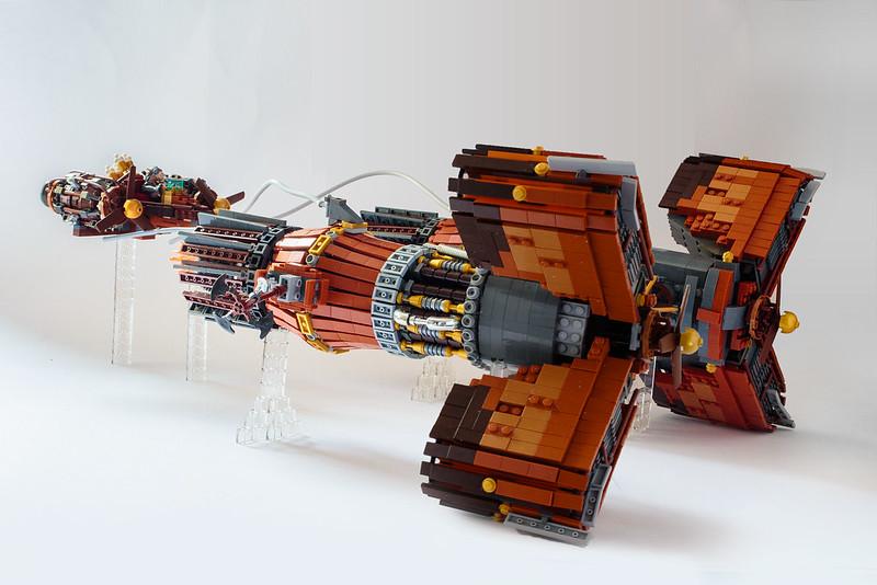 lego 42025 y-wing instructions