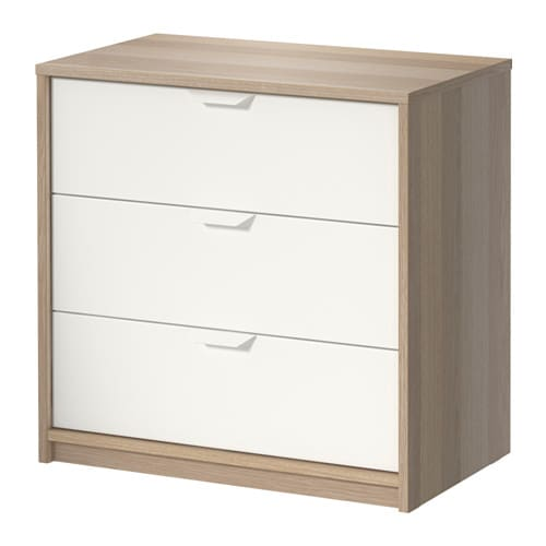 ikea askvoll 3 drawer chest instructions