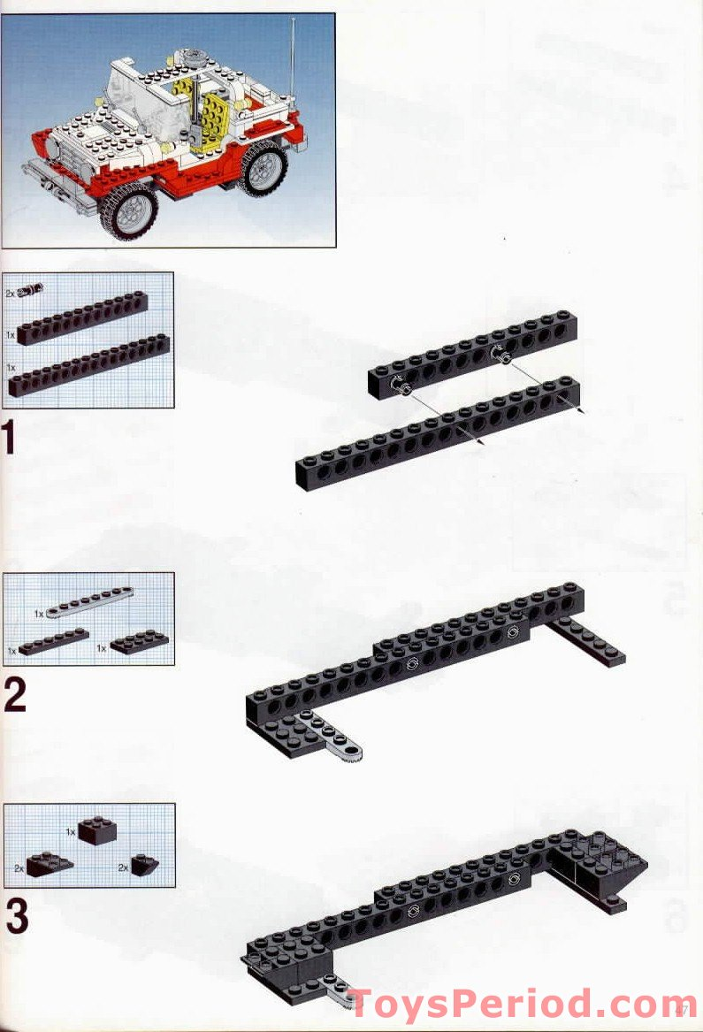 lego red bird instructions