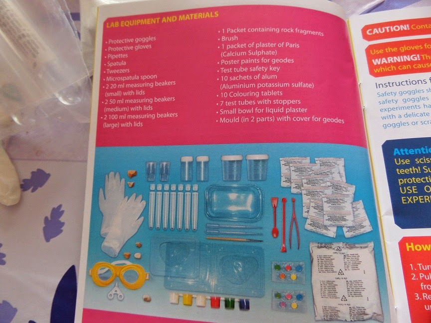 clementoni crystal laboratory instructions