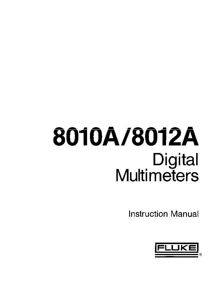 fluke i 200 operating instructions