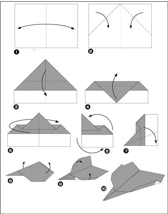origami fireworks step by step instructions