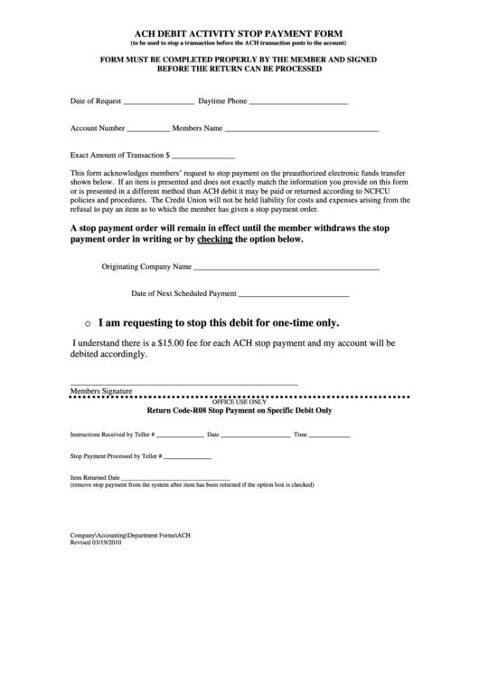 cbp ach debit application instructions