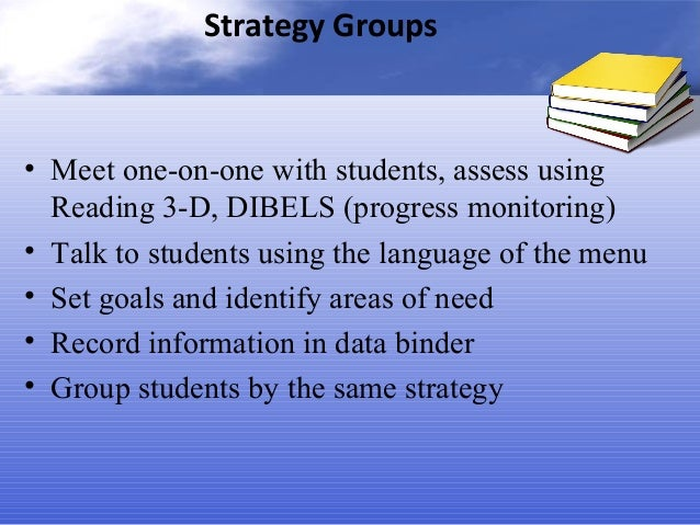 cafe strategy groups and instruction form