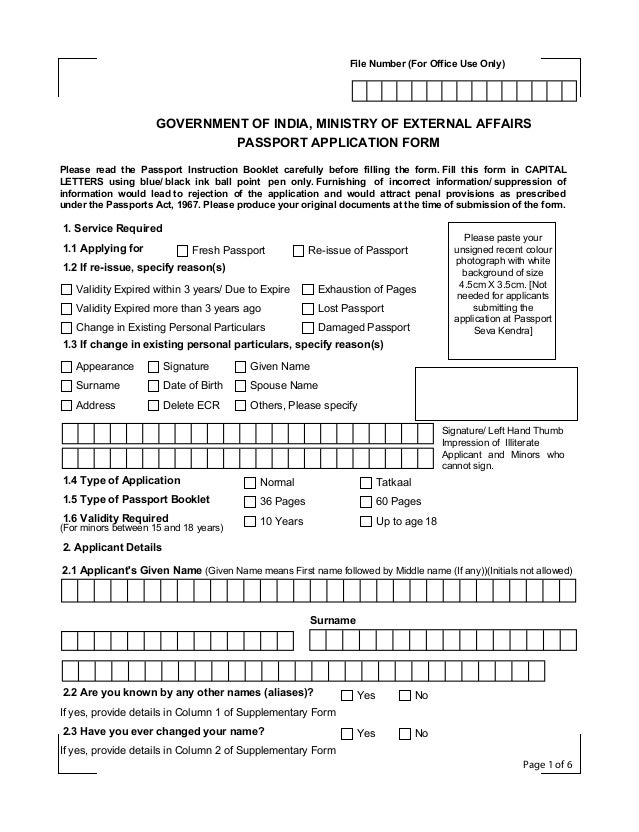 canadian passport application instructions section l