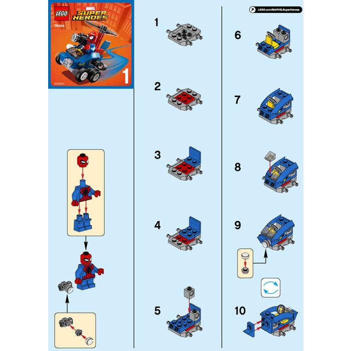 cardboard lego man instructions