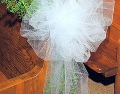 celebration 2 wedding pew bows instructions to make