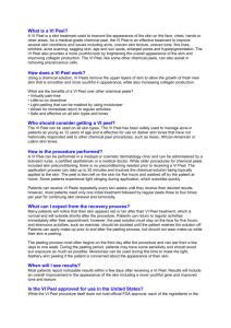 chemical peel pretreatment instructions