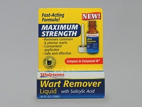 clear away liquid wart remover instructions