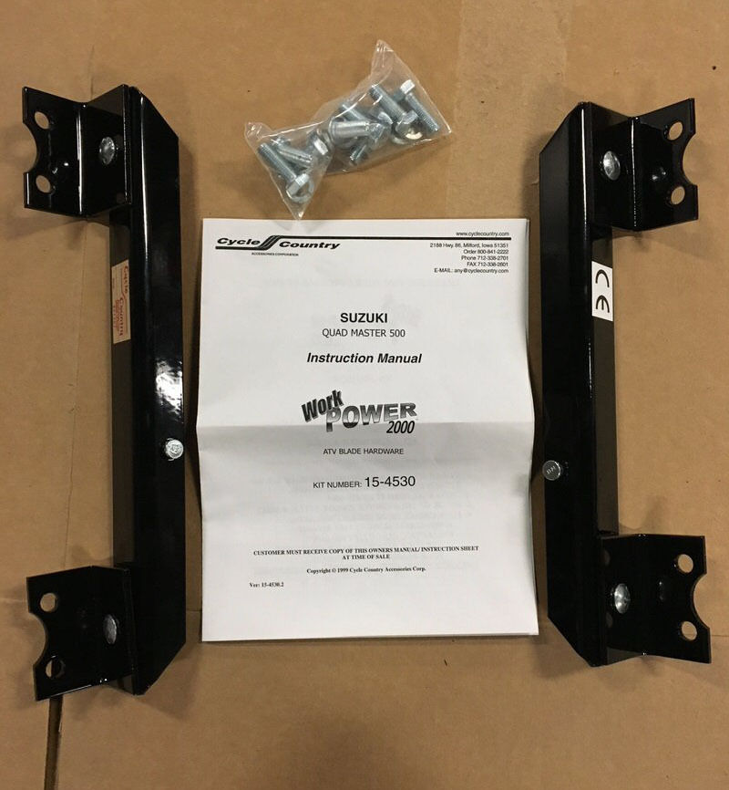 cycle country mid frame mount instructions