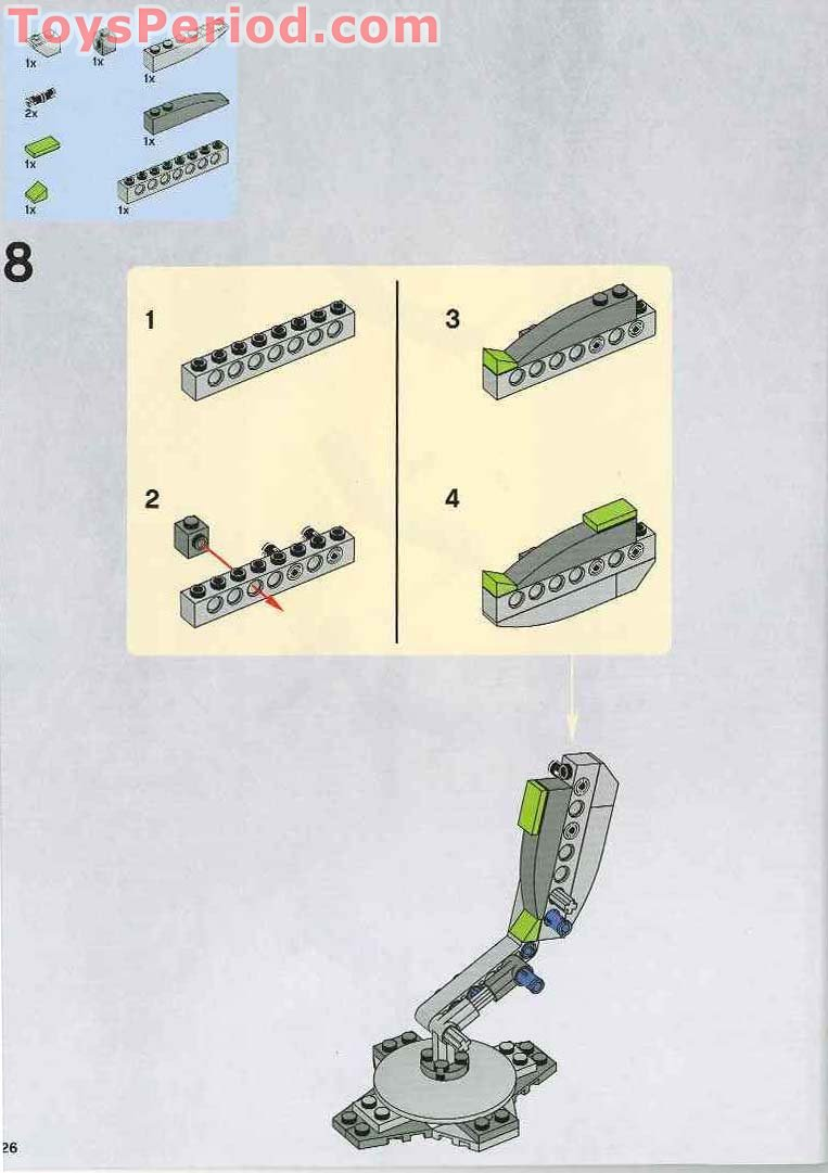 at dp walker lego instructions