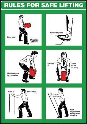 instructions for proper handling