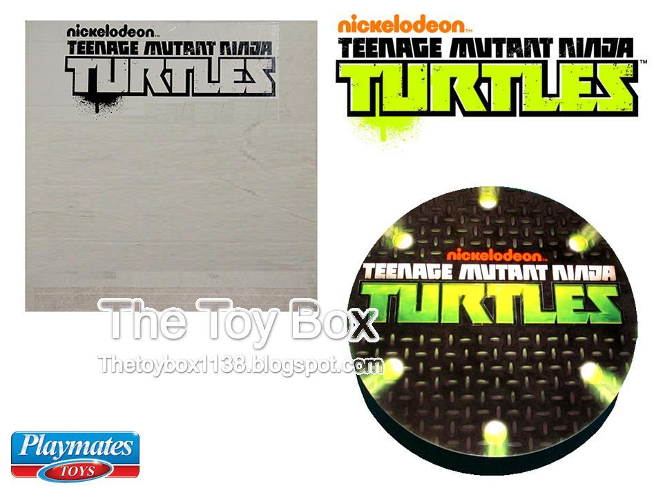teenage mutant ninja turtles secret sewer lair playset sticker instructions