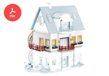 playmobil house instructions 3965
