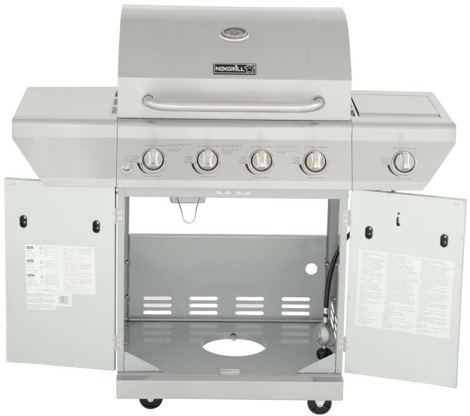nexgrill 4 burner instructions for use