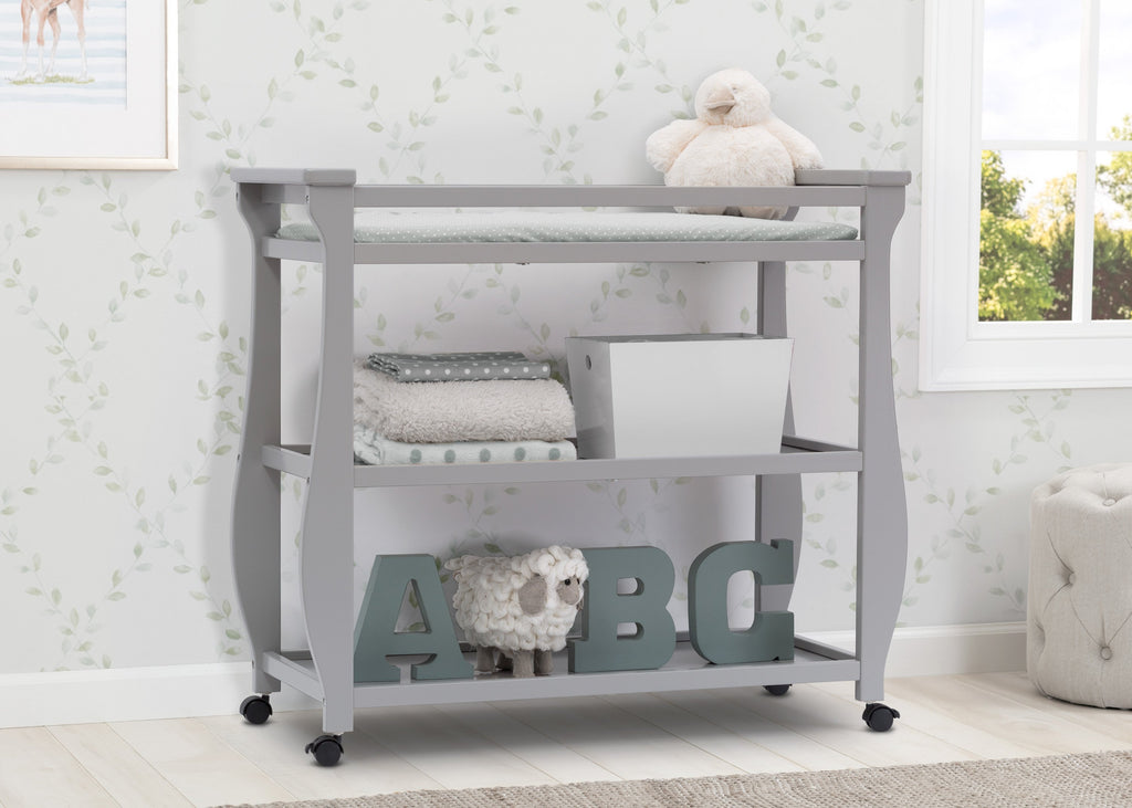delta 3 in 1 crib with changing table instructions