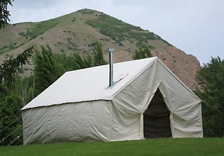 deluxe wall tents instructions