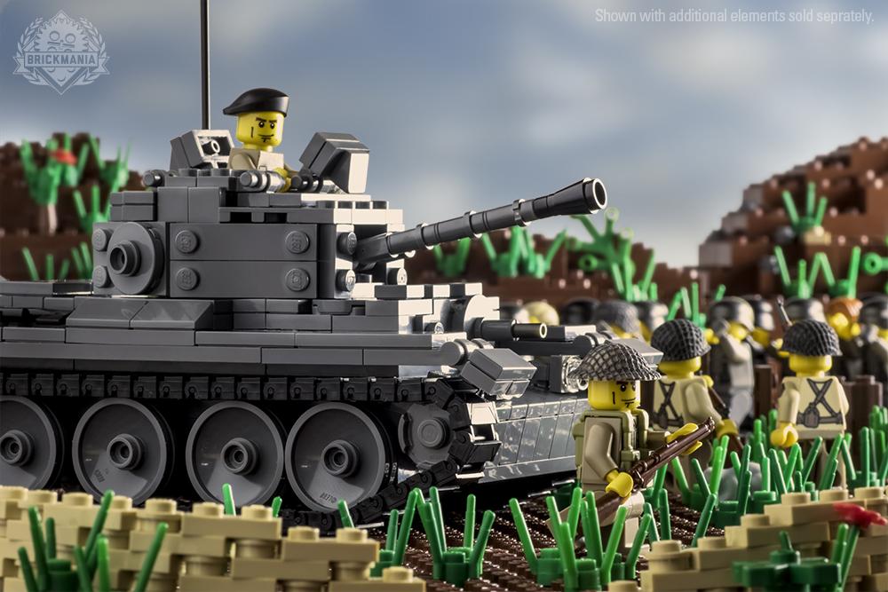 bolt action sherman tank building instructions