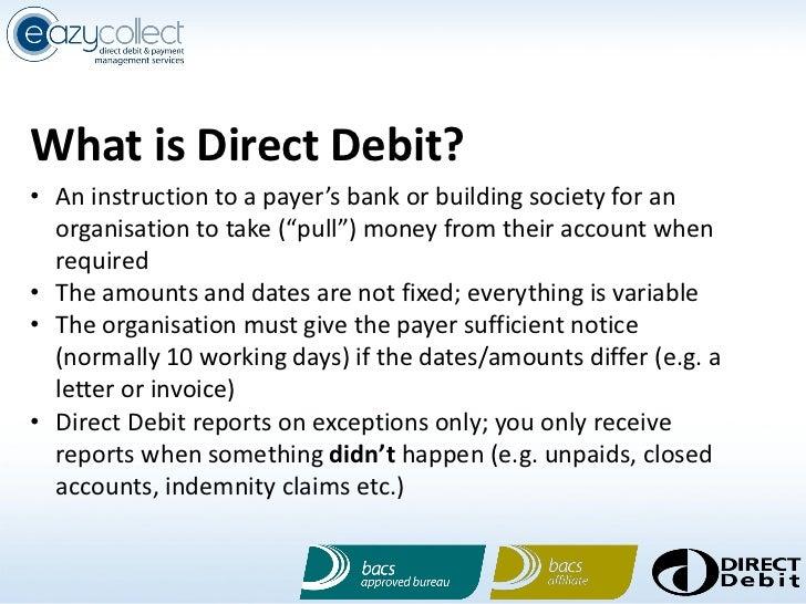direct debit no instruction