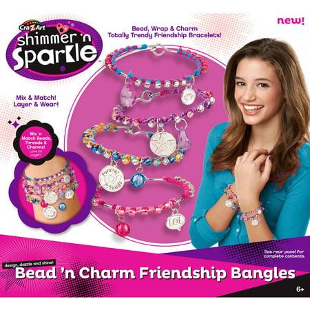 shimmer and sparkle bracelet maker instructions