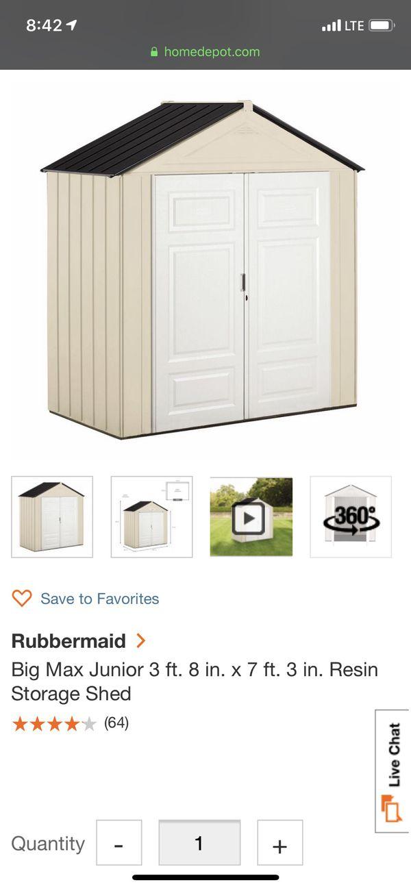 rubbermaid big max jr instructions
