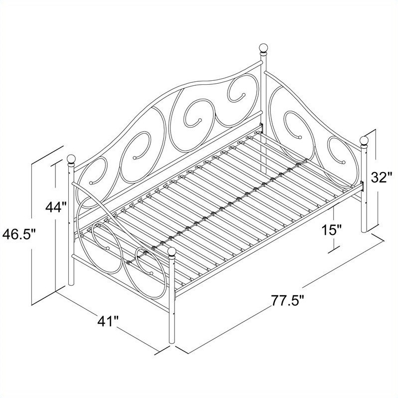 victoria daybed assembly instructions