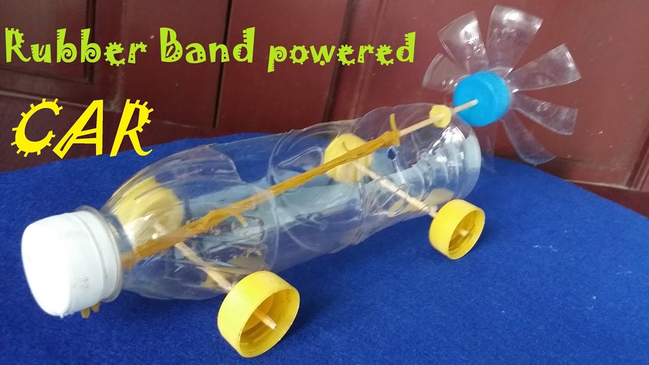 easy rubber band powered car instructions