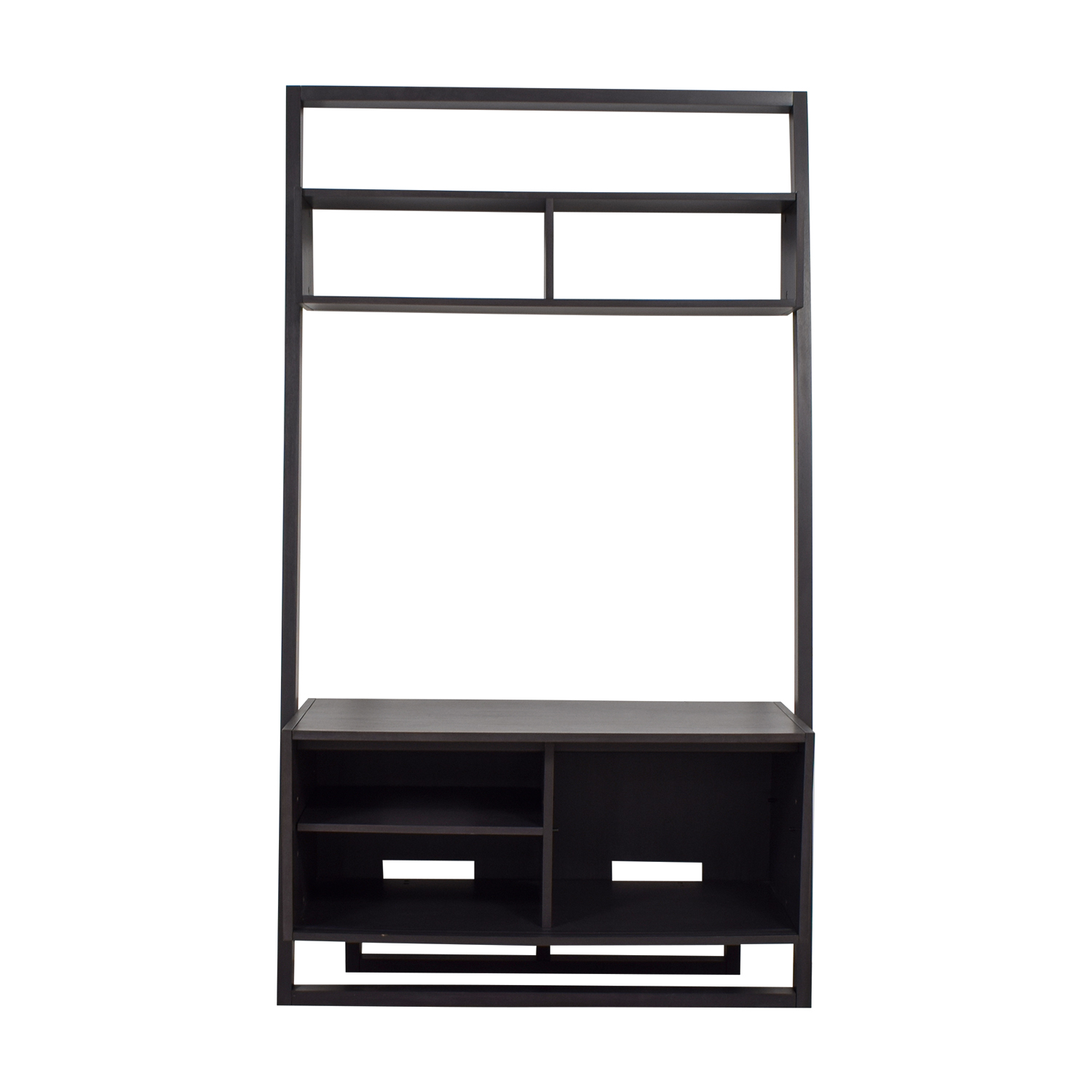 crate and barrel sloane leaning bookcase instructions