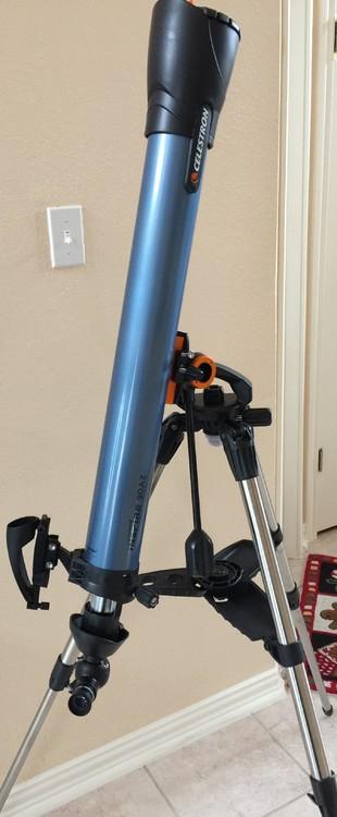 inspire 90az telescope instructions
