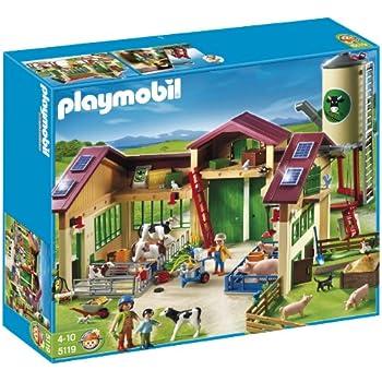 playmobil farm barn instructions