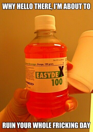 one hour glucose test pregnancy instructions