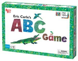eric carle abc board game instructions