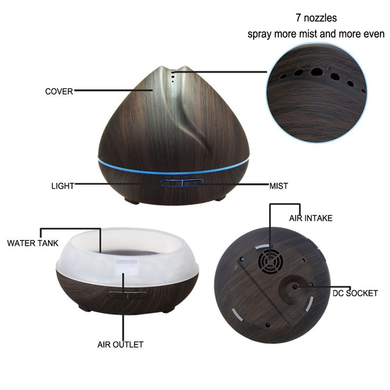 adore ultrasonic aroma diffuser instructions