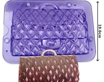 3d clutch purse instructions gumpaste mold