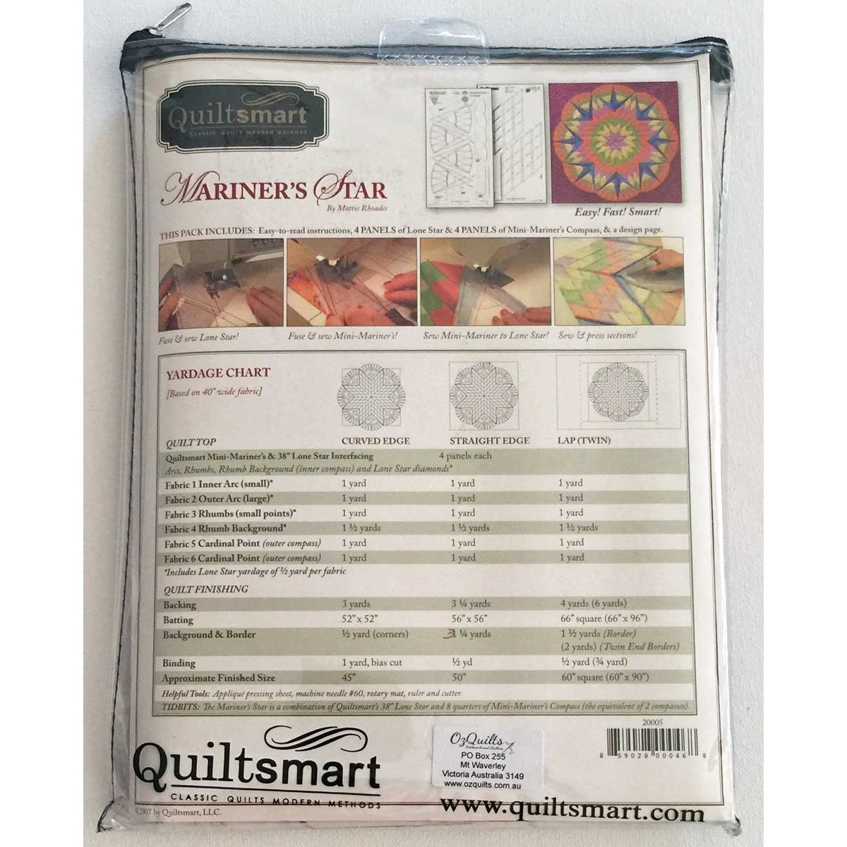 quiltsmart lone star instructions