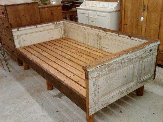 queen size pallet bed frame instructions