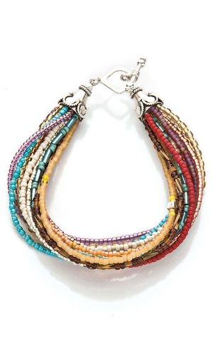 multi strand seed bead necklace instructions