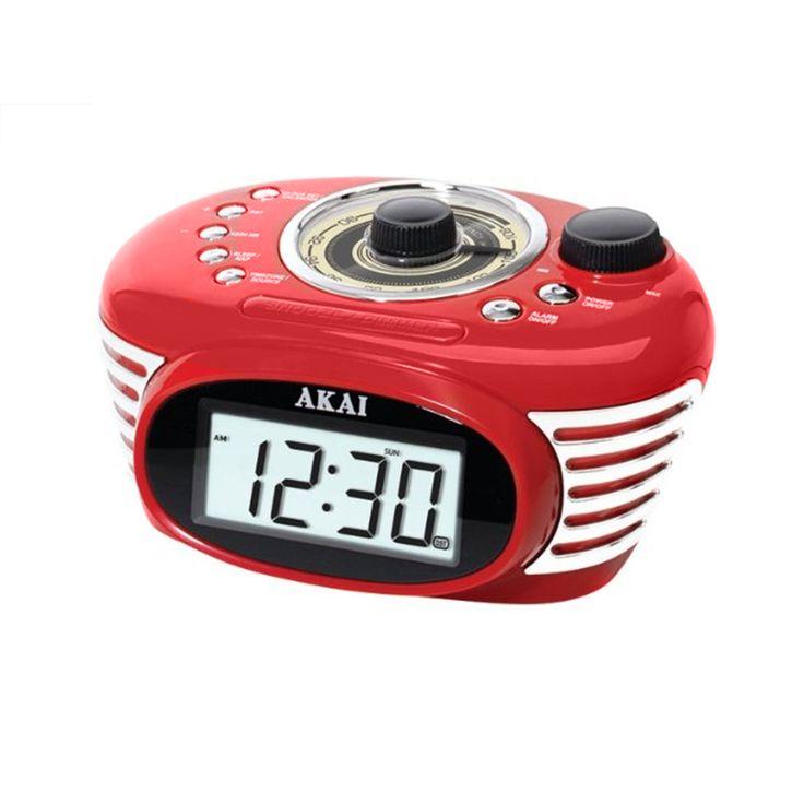 akai am fm pll alarm clock radio ce1000b instructions