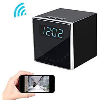 top secret spy camera mini clock radio instructions