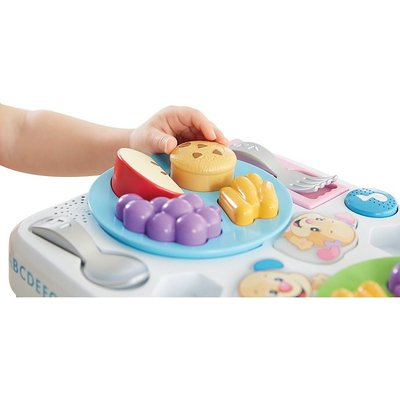 fisher price laugh and learn table instructions
