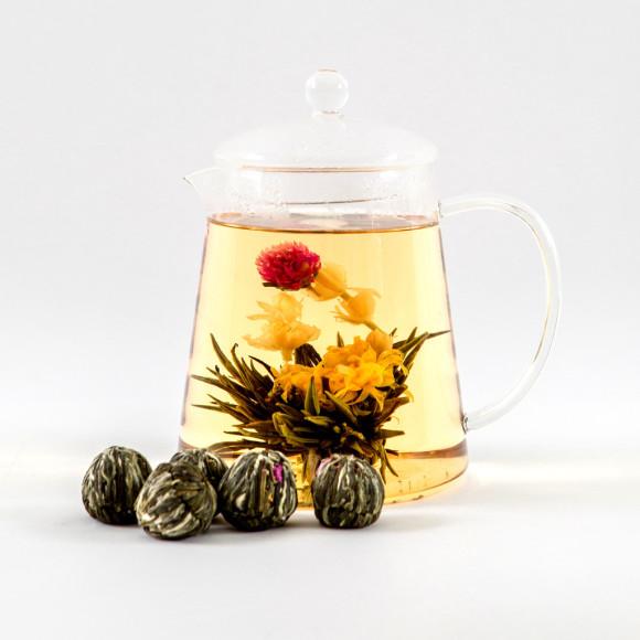 flowering tea balls instructions
