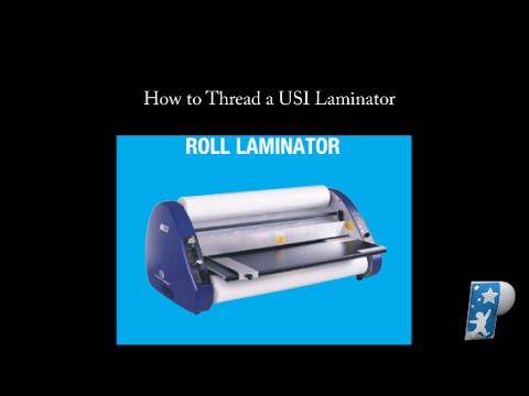 gbc self seal laminating roll instructions