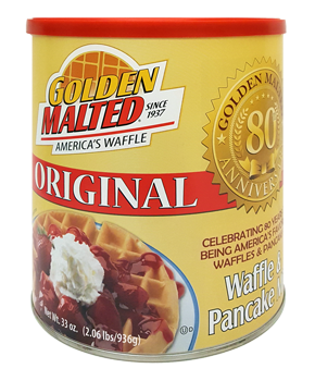 golden malted waffle instructions