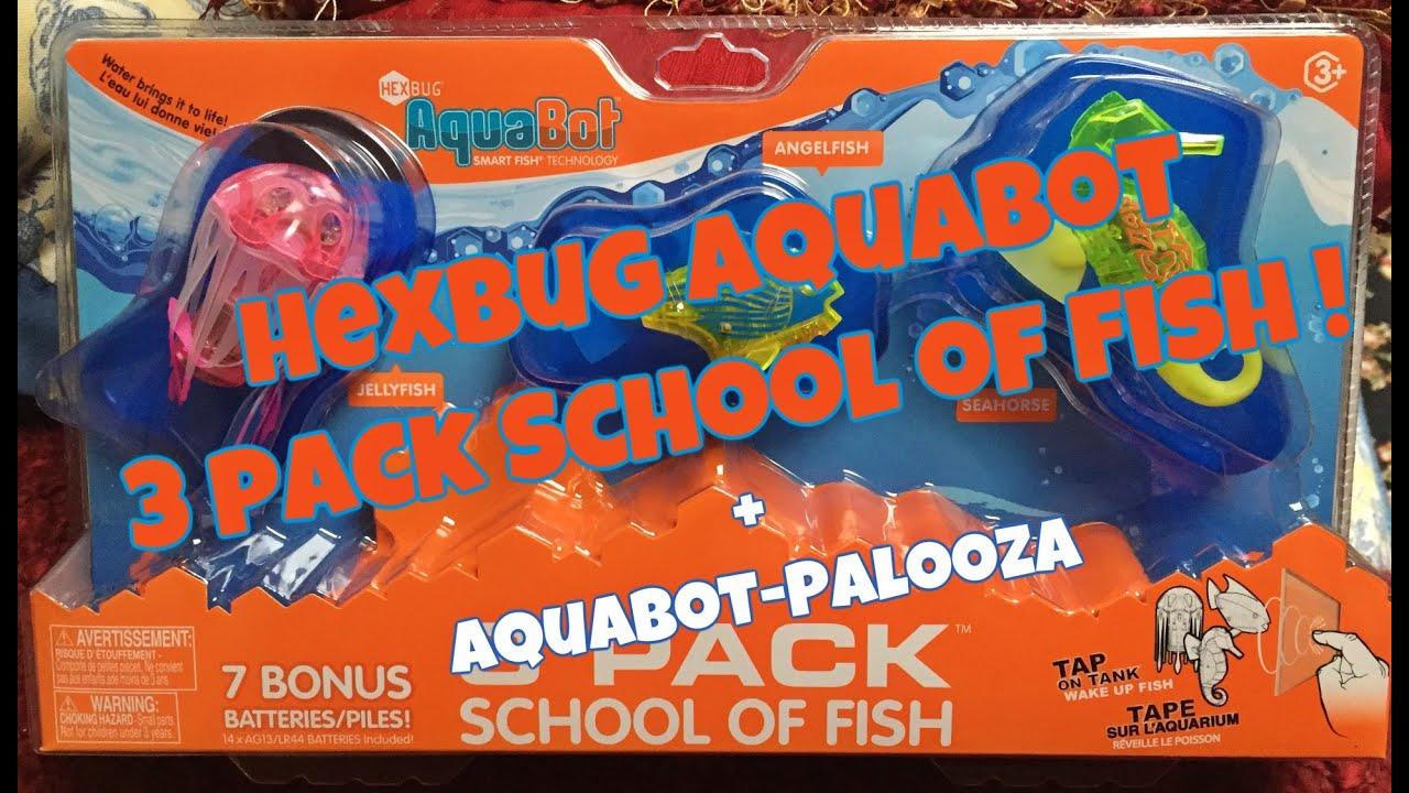 hexbug aquabot fish instructions