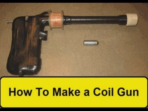 homemade coil gun instructions